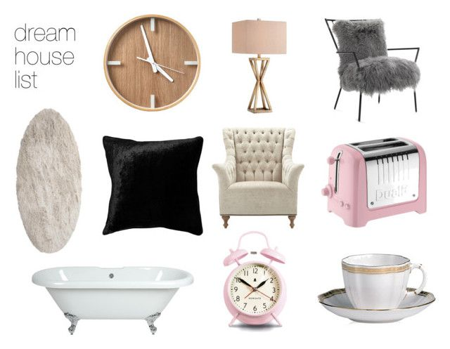 """dream house list"" by bbriii on Polyvore featuring interior, interiors, interior design, home, home decor, interior decorating, Newgate, Mitchell Gold + Bob Williams, Catalina and Dualit"