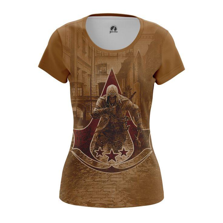 Nice Womens T-shirt Assassin's Creed 3 Game  – Search tags:  #Assassinscreedbuyaustralia #Assassinscreedbuycanada #assassinscreedclothesgirlstshirts #assassinscreedmerchandise #assassinscreedmerchandisedk #AssassinsCreedmerchandisegifts #AssassinsCreedmerchandiseindia #AssassinsCreedmerchandiseuk #assassinscreedshirt #assassinscreedt-shirt #Assassinscreedtoys #femaleclothes #femaleshirts #gamesmerchandiseassassinscreedmerchandise #girlsshirt