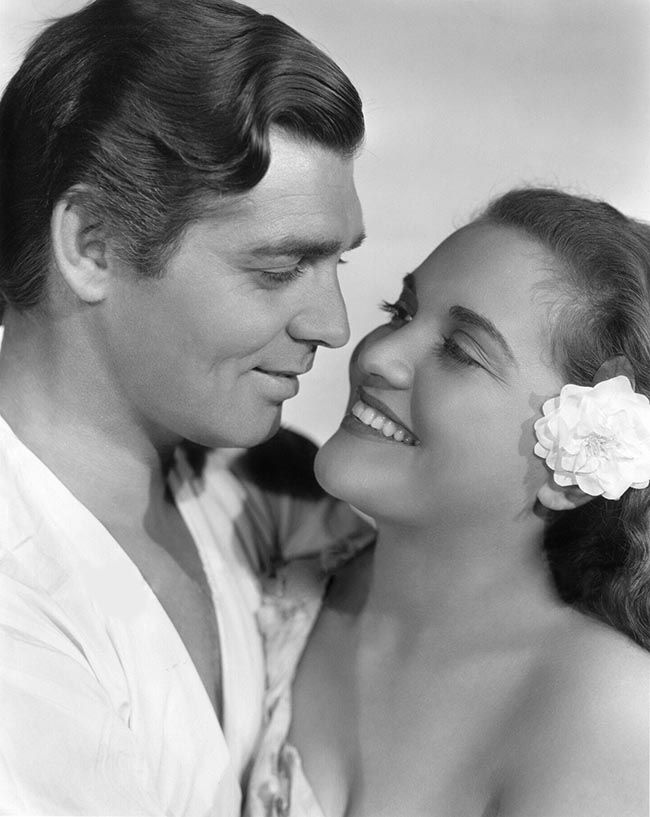 Clark Gable and Mamo Clark - Mutiny On The Bounty (1935)