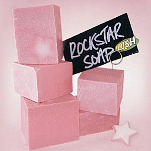 LUSH Rockstar soap. Creamy vanilla candy goodness in a pretty pink bar <3