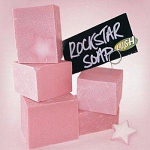 LUSH Rockstar soap. Creamy vanilla candy goodness in a pretty pink bar <3