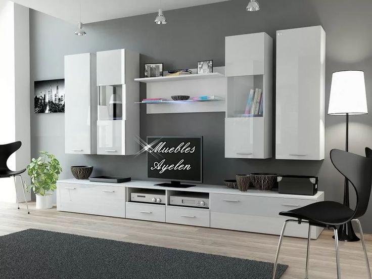 modular tv lcd rack vajillero modelo 2600 muebles ayelen