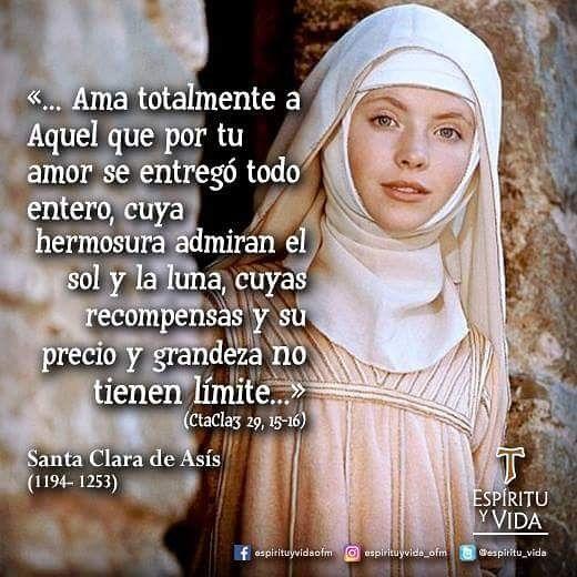 Asis De Santa Frases Clara