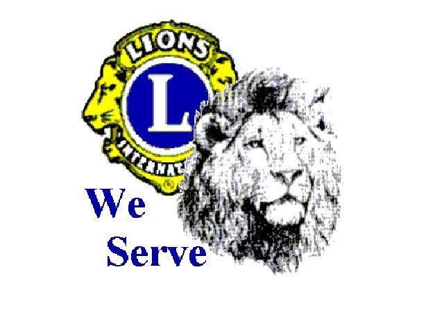 Free Lions Club Logos | Sponsored by the Leones de la Noche Lions Club