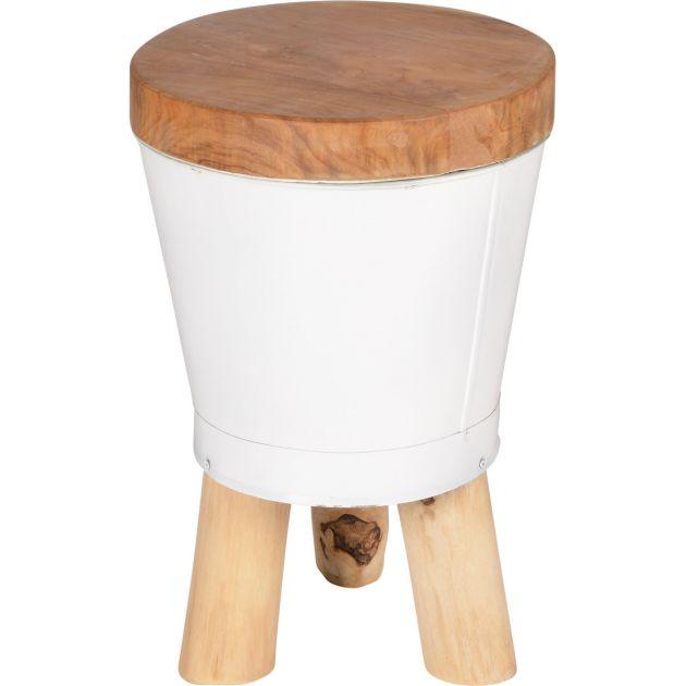 Kruk Bucket S wit