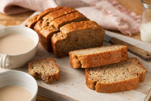 Use the natural sweetness of ripe bananas to sweeten this delicious banana bread. It's perfect for those who are avoiding refined sugar.