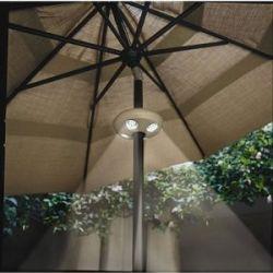 Pole Mounted Patio Umbrella Lights