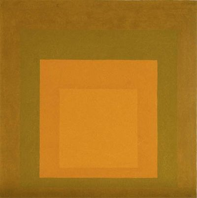 Abstract Imagists  - Josef Albers, Homage to the Square, 1965