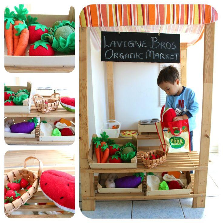42 besten kaufladen bilder auf pinterest kinderspielzeug filzstoff und filz spielzeugessen. Black Bedroom Furniture Sets. Home Design Ideas