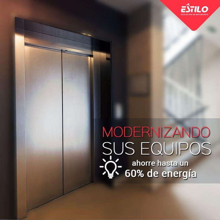 Ahorre energía modernizando los ascensores de su edificio. En Estilo Ingeniería ofrecemos gran variedad de diseños y actualizaciones para que sus equipos estén siempre a la vanguardia tecnológica. Solicite su cotización en: http://bit.ly/2ntdCIa