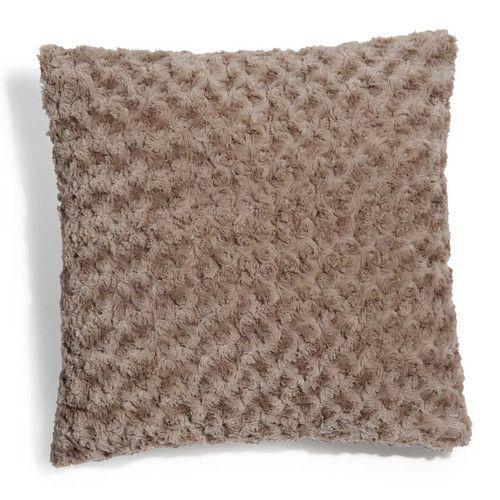 maison du monde plaid fourrure latest pouf en coton. Black Bedroom Furniture Sets. Home Design Ideas