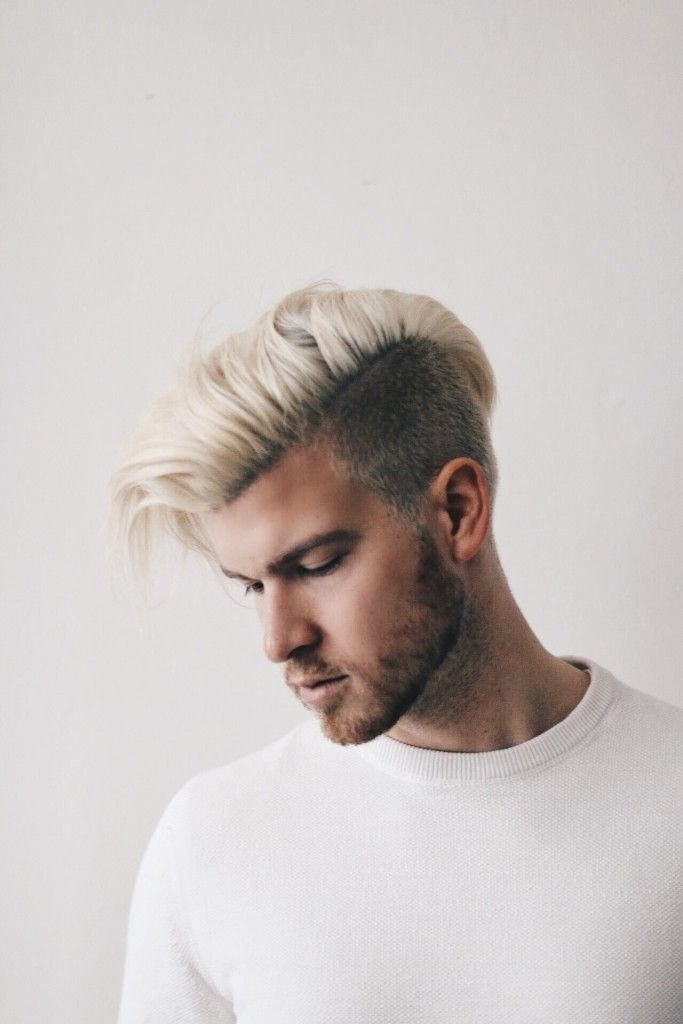 Hairstyles For Blonde Guys Lovely Dark Blonde Hairstyles Men In 2020 Men Hair Color Bleach Blonde Hair Cool Hairstyles