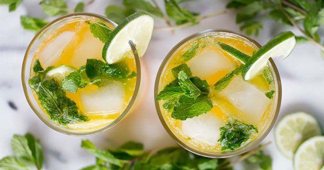 Bara du har vodka hemma är det lätt att slänga ihop goda och enkla drinkar som svalkar i vårvärmen.