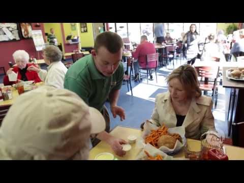 Down Syndrome: Tim Harris & Family  | You've Got  Tim's Place- Showing disabilities don't have to hold you back!