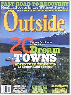 Outside Magazine, August 2004