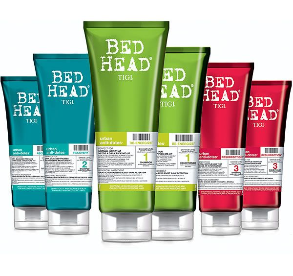 tigi hair products This line is great for lightly damaged to really damaged hair!