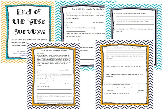 school parent surveys end of the year student and parent surveys click here to 4851