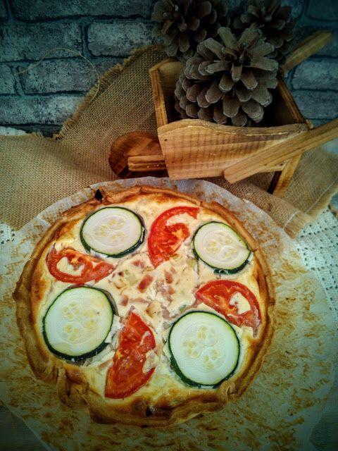 Nati recetas caseras: QUICHE DE JAMON Y PUERROS