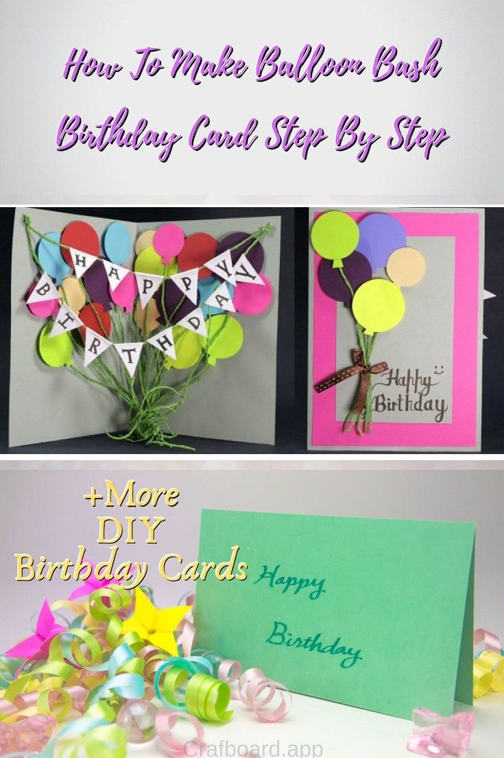 22 Easy Unique And Fun Diy Birthday Cards To Show Them Your Love
