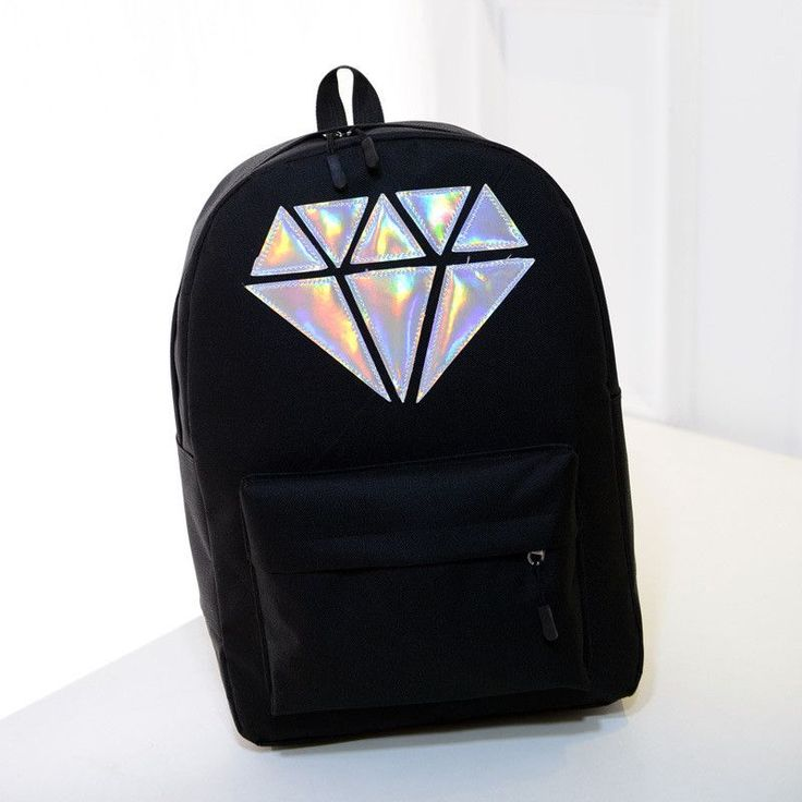 Holographic Silver Diamond / waterproof / Laptop/ BAG