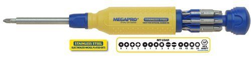 Megapro 151SS 15-In-1 Stainless Steel Driver, Yellow/Blue by Megapro, http://www.amazon.com/dp/B004VJY99Y/ref=cm_sw_r_pi_dp_8AS0rb0RHKTHV