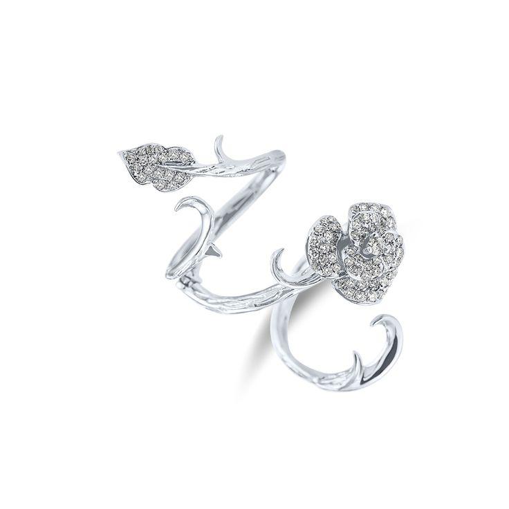 Ring Mystery Rose www.alodiamonds.com www.alo.cz