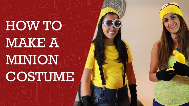 How to Make Minion Costume | Easy Way to Make Minion Costume