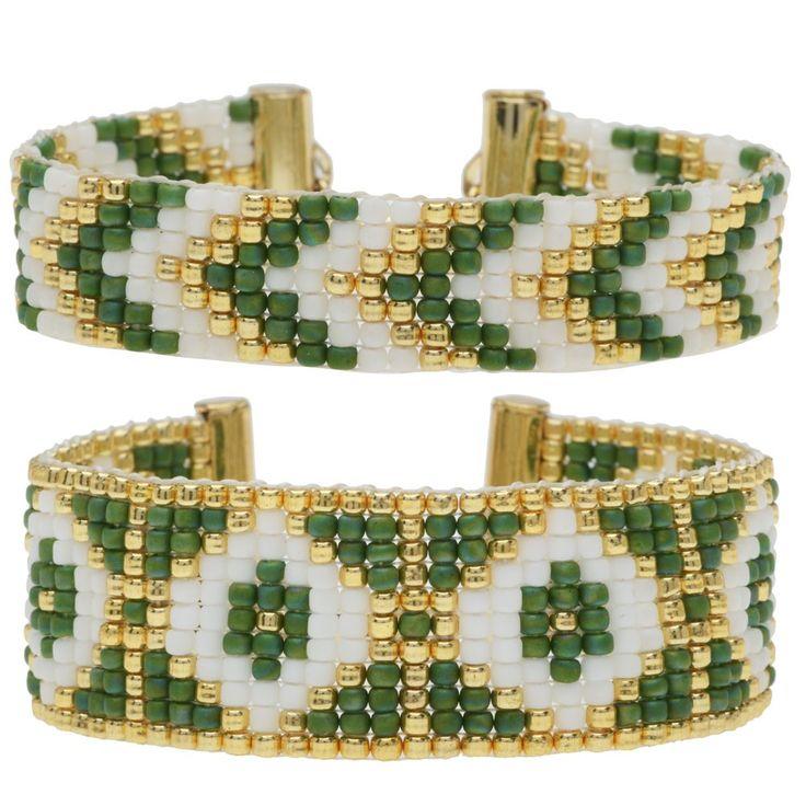 Loom Bracelet Duo - Joyce Green - Exclusive Beadaholique Jewelry Kit - Bracelet Making Kits - Jewelry Kits - Jewelry Making Kits | Beadaholique
