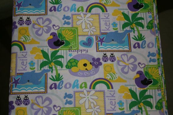 Sweet Swaddles Aloha Happy Keiki Fabric for Baby by SweetSwaddles