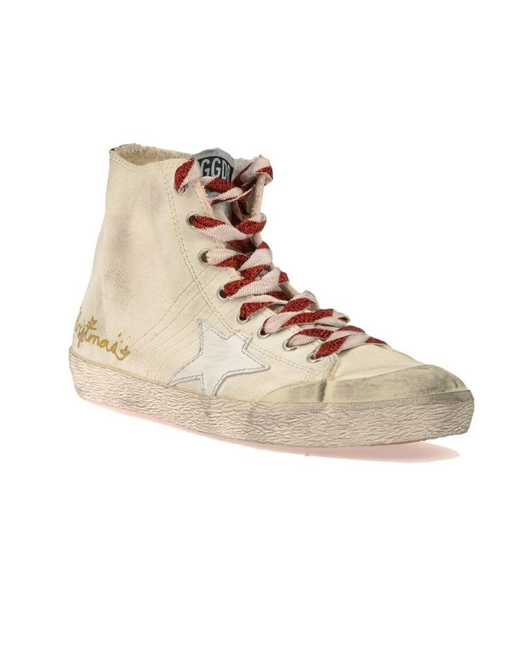 Golden Goose 17 F/W Men's High Top Superstar Sneakers G31MS591 A94 Deluxe Brand #GoldenGoose #FashionSneakers