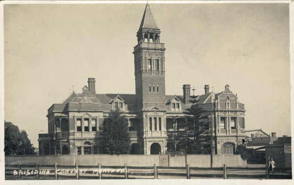 Brigidine Convent in Mentone - very nice. Picture dated ca:1909