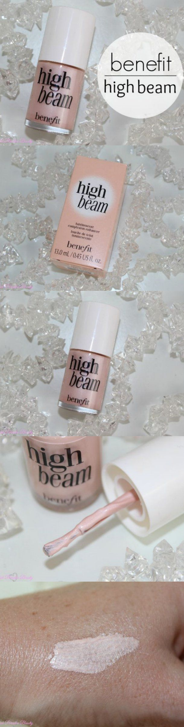 Benefit High Beam Review and Photos http://pinkparadisebeauty.blogspot.co.uk/2015/08/benefit-high-beam-review-and-photos.html