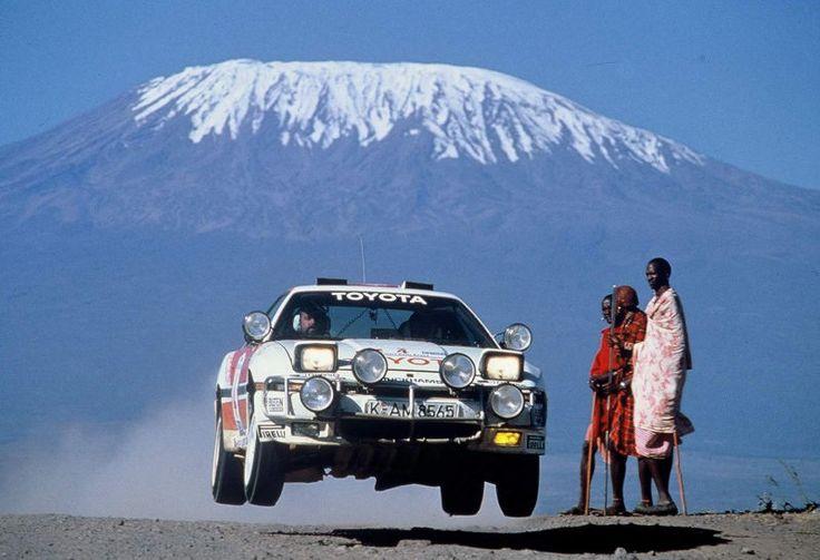 Der Toyota Supra Rallye-Wagen, den ich damals vergessen habe   – Coche de rally