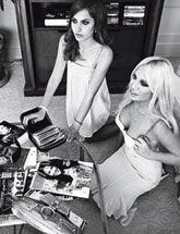 Exclusive - Donatella and Allegra Versace - Harper's BAZAAR Magazine