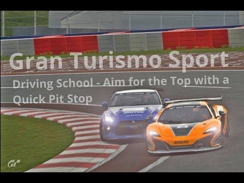 New video! #granturismosport #gtsport #gtplanet #sony #ps4 #ps4pro #playstation #simulator #game #games #drivingschool #aim #top #quick #pit #stop #nissan #gtr #gtrgr4 #gtr35 #mclaren #650s #650sgr4 #racecar #cars #tracks #online #roadracing #rallyracing #tutorial #gtsportgameplay