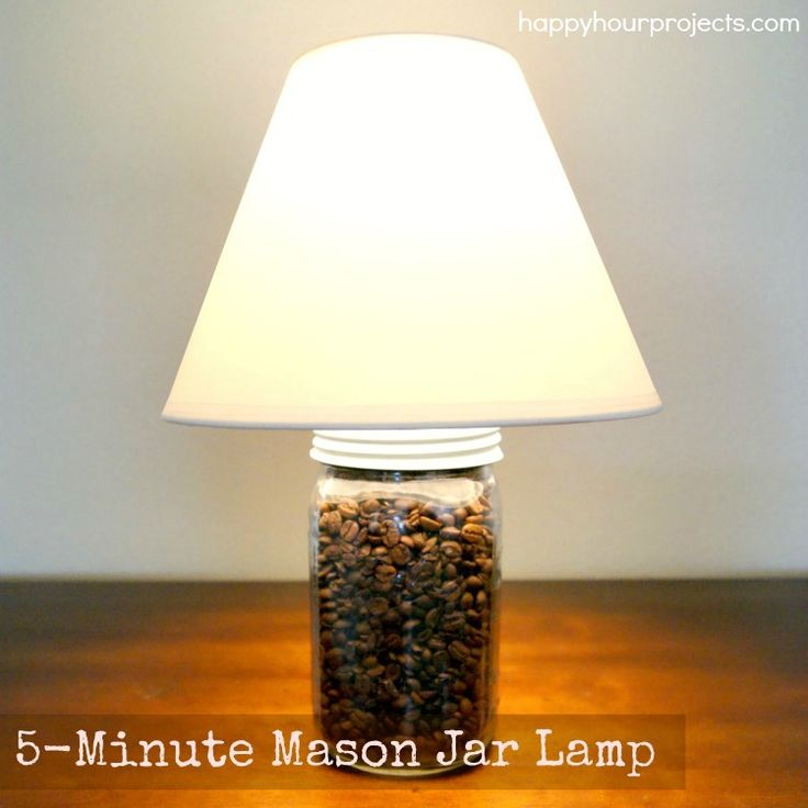 Jump On The Java Train With This Charming #DIY Lamp Made
