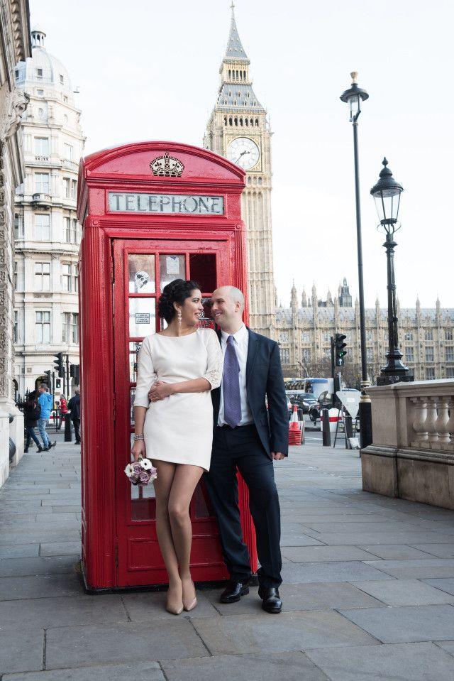 Matrimonio Civil y citadino en Londres Foto: Amanda Forman Photography