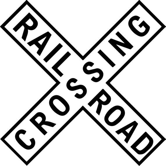 See All Our Printable Graphics Here Https Www Etsy Com Shop Expertoutfit Important Railroad Crossing Signs Crossing Sign Sign Image