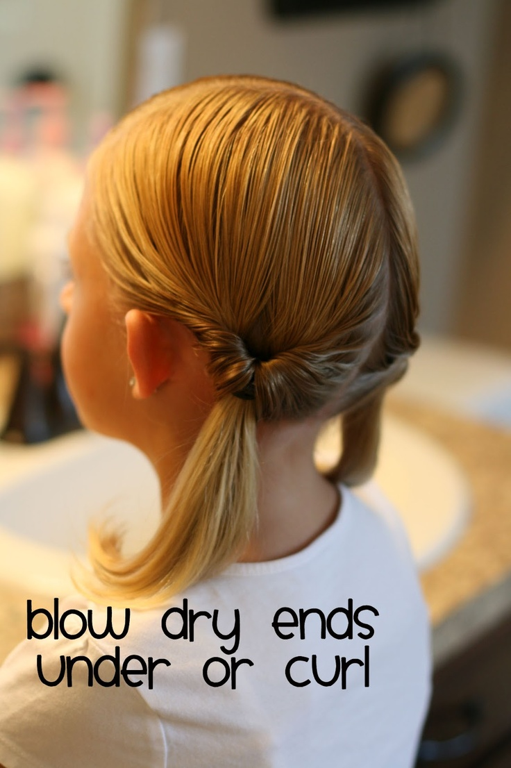 Hair Today: Summer Simple...Two Knotted Ponytails