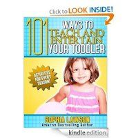 Free Kindle Download:  101 Ways to Teach and Entertain Your Toddler
