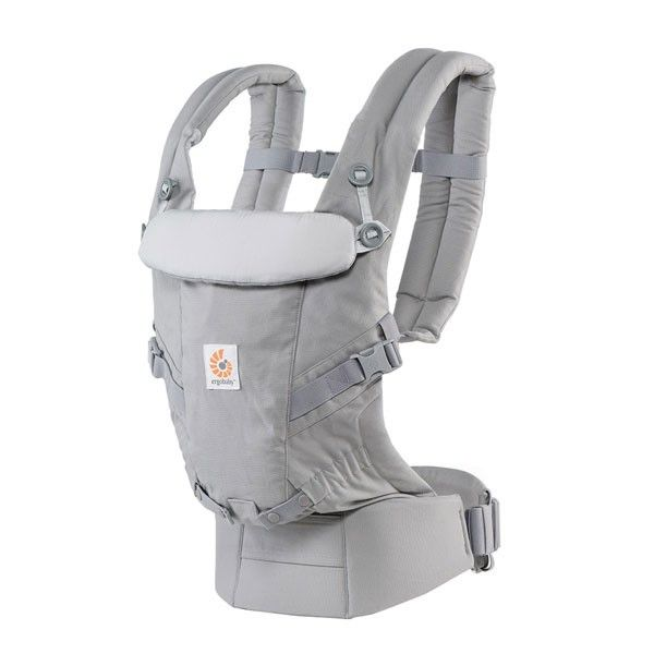 Ergobaby Adapt Carrier Pearl Grey Angle