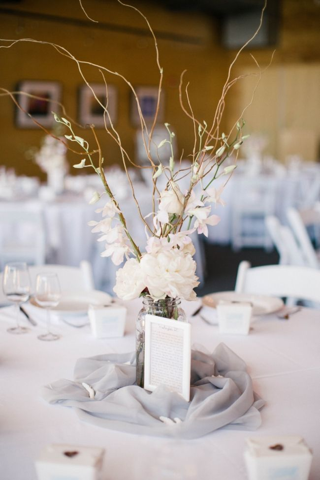 Stunning minimalist wedding centerpiece elegant for Minimal decoration