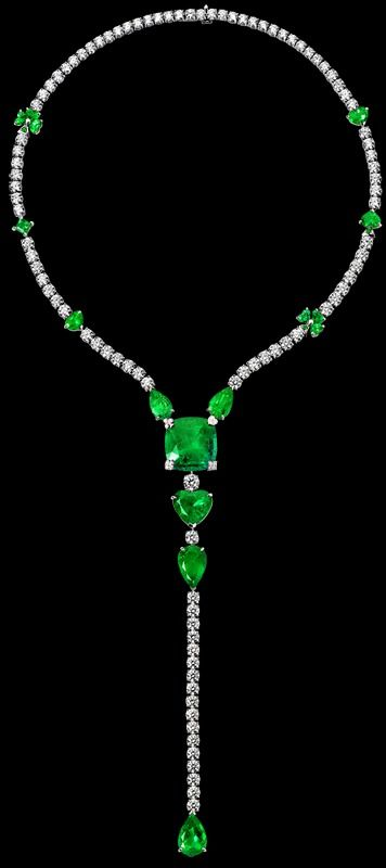 Platinum Diamond Necklace G37L5500 - Piaget Luxury Jewelry Online