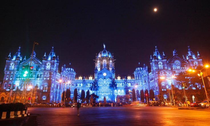 The Chhatrapati Shivaji rail terminus in Mumbai, India  Photograph: Imago/Barcroft Media/Hindustan Times