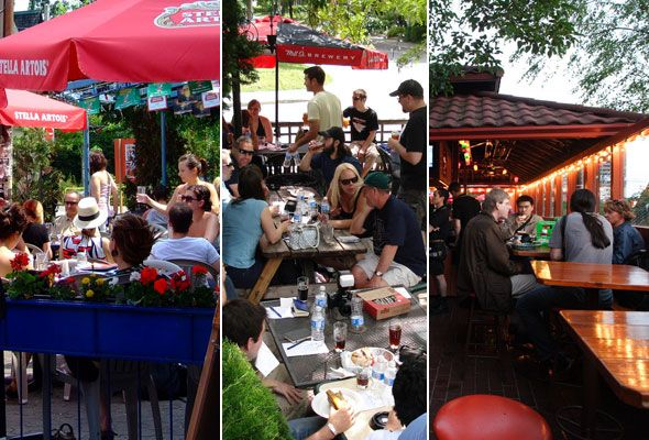 Patios in The Annex