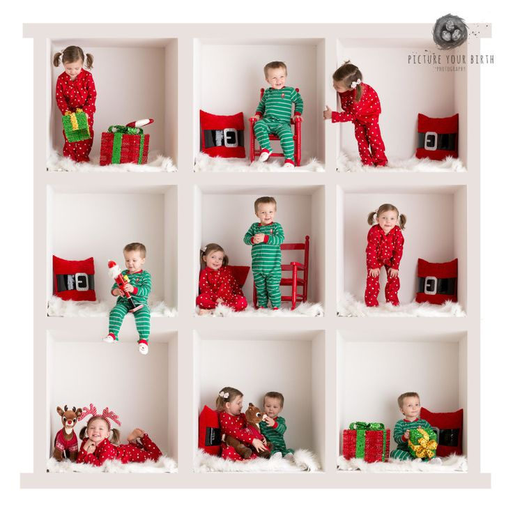 christmas mini session, kids christmas picture, Picture Your Birth Photography