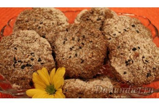 Овсяные тофу печеньки
