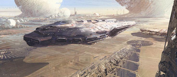 ArtStation - Starwars - Inspiration, Juan Pablo Roldan