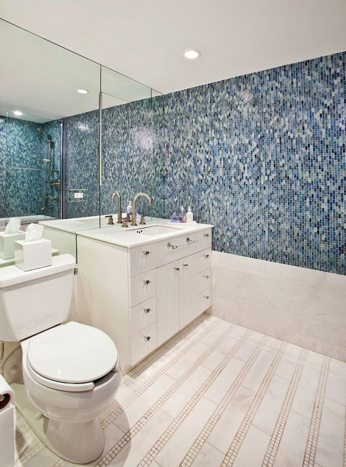 Bathroom Tile Ideas Blue And White 201 best bathrooms - contemporary vibe images on pinterest