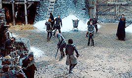 sansastarkthequeen Every Jon Snow Scene [18/??]  1x03: Lord Snow